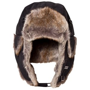 Image of Barts Black Faux Fur Kamikaze Trapper Hat 53 (4-8 years) (3057103353)