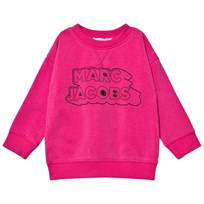 Little Marc Jacobs Pink Branded Sweatshirt 49A