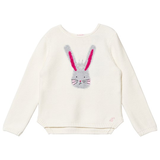 Tom Joule Cream Bunny Intarsia Knit Jumper CREAM BUNNY