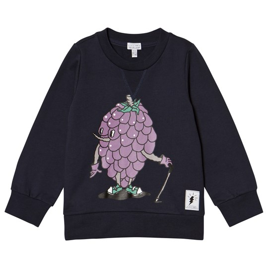 Civiliants Grape Print Sweater Navy Navy