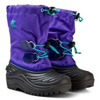 Sorel Kid's Super Trooper Boot Purple Arrow Purple Arrow