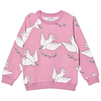Mini Rodini Peace Sweatshirt Pink Pink
