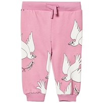 Mini Rodini Peace Sweatpants Pink Pink