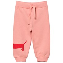 Mini Rodini Dog Sweatpants Pink Pink