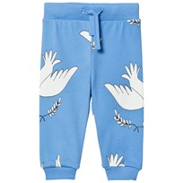 Mini Rodini Peace Sweatpants Blue Blue