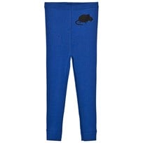 Mini Rodini Mr Mouse Wool Leggings Blue Blue