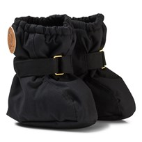 Mini Rodini Alaska Baby Booties Black Black
