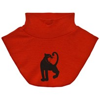 Mini Rodini Panther Wool Turtleneck Red Rød