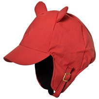 Mini Rodini Alaska Ear Cap Red Red