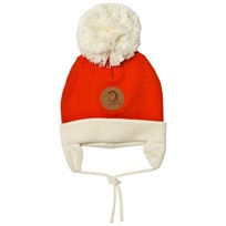 Mini Rodini Penguin Baby Hat Red Red