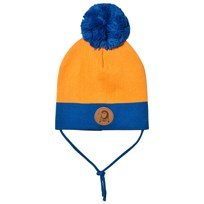 Mini Rodini Block Hat Orange Orange