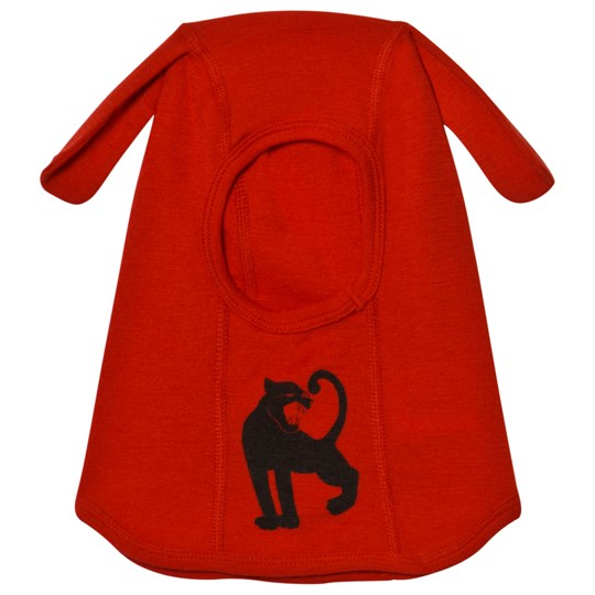 Mini Rodini Panther Ull Balaklava Röd Red
