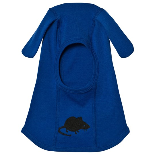 Mini Rodini Mr Mouse Wool Balaclava Blue Blue