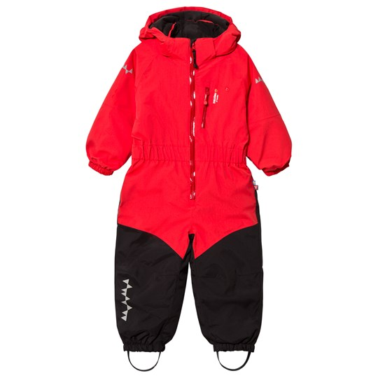 Isbjörn Of Sweden Penguin Snowsuit Red Red