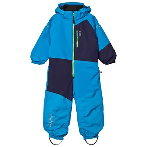 Image of Isbjörn Of Sweden Halfpipe Winter Jumpsuit Turquoise 110 cm (3057459595)
