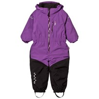 Isbjörn Of Sweden Penguin Snowsuit Purple Purple
