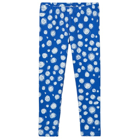 Noe & Zoe Berlin Blue Snow Printed Leggings BLUE SNOW