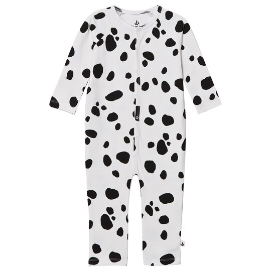 Noe & Zoe Berlin Black Seal Printed Footless Babygrow BLACK SEAL