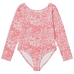 Noe & Zoe Berlin Rose Fur Printed Leotard