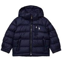 Ralph Lauren Navy Down Puffer Coat 001