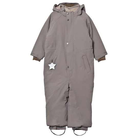 Mini A Ture Wanni K Snowsuit Steel Grey Steel Grey
