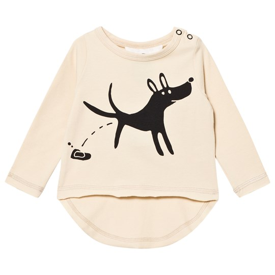 Koolabah Stray Dogs Long Sleeve Tee Beige Beige