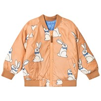 Mini Rodini Rabbit Insulator Jacket Beige Beige