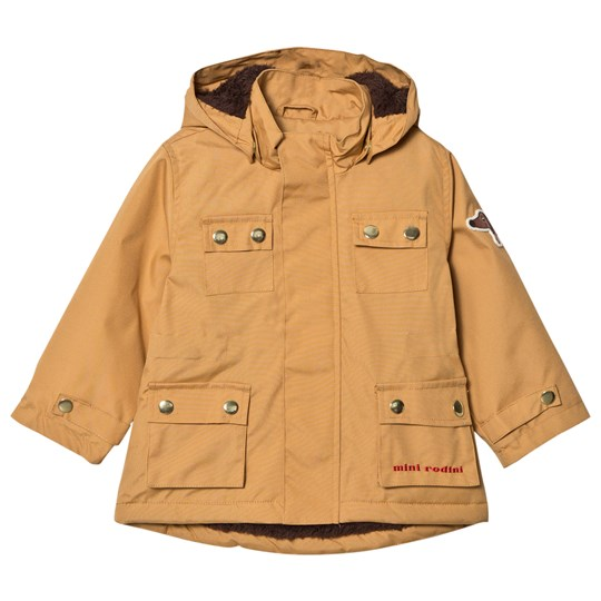 Mini Rodini Dog Parka Beige Beige