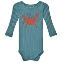 Bobo Choses Baby Body Crab Your Hands Blue
