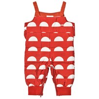Bobo Choses Padded Overall Crests Red