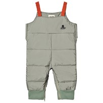 Bobo Choses Padded Overall Octopus Green