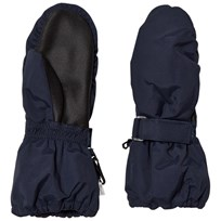 Wheat Mittens Technical Navy Navy