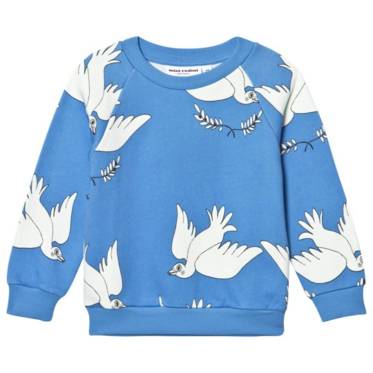 Mini Rodini Peace Sweatshirt Blue Blue