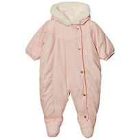 Carrément Beau Pale Pink Padded Hooded Coverall 455