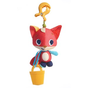Image of Tiny Love Meadow Days Fox Christopher Jittering Toy One Size (782168)