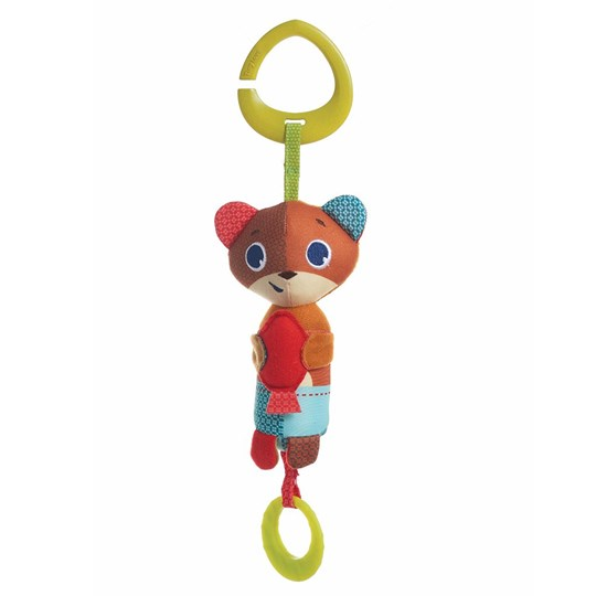 Tiny Love Meadow Days Bear Isaac Wind Chimee Unisex