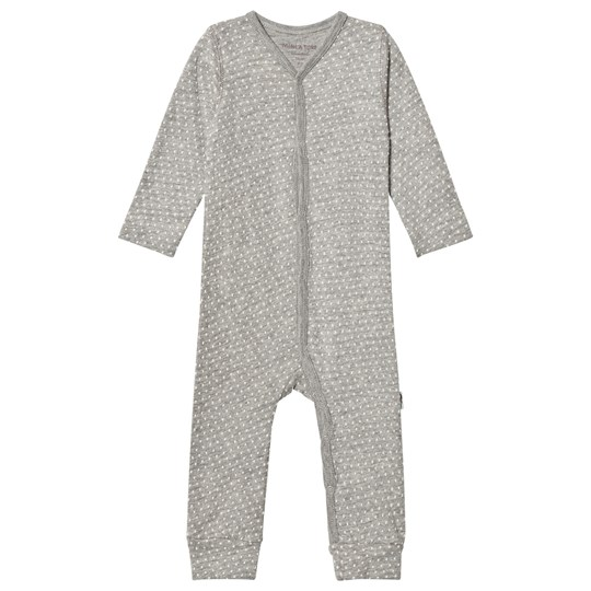 Mini A Ture Mattie One-Piece Light Grey Light Grey Melange