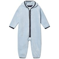 Mini A Ture Adel Fleece Onesie Blue Fog Blue fog