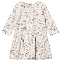 The Bonnie Mob Dress A-Line Print Sand Sand