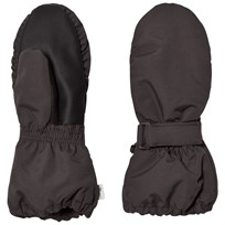 Wheat Technical Mittens Charcoal Charcoal