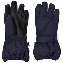 Wheat Technical Gloves Navy Navy