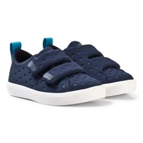 Native Navy Monaco Rubber Velcro Trainers 4201