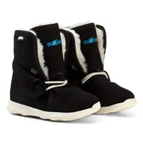 Native Black Luna Water Repellent Fleece Lined Boots 1100
