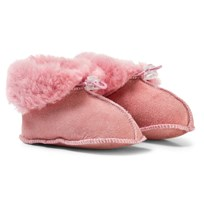 Melton Lamb Wool Shoes Rosa Alt Rosa