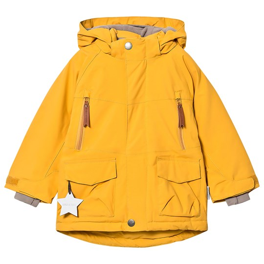 Mini A Ture Wille K Jacket Mineral Yellow Mineral Yellow