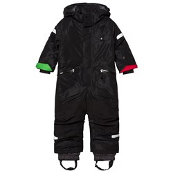 Didriksons Ale Kids Coverall Black