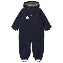 Mini A Ture Wisti M Snowsuit Blue Nights Blue Nights