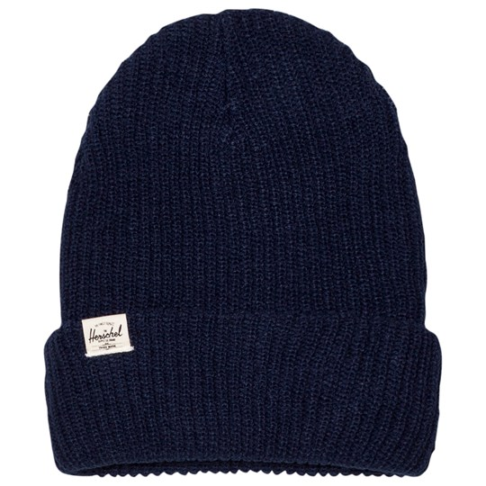 Herschel Quartz Youth Beanie Navy Navy