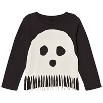 Stella McCartney Kids Black Bella Ghost Tee 1073