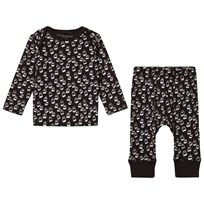 Stella McCartney Kids Black All Over Print Set 1076